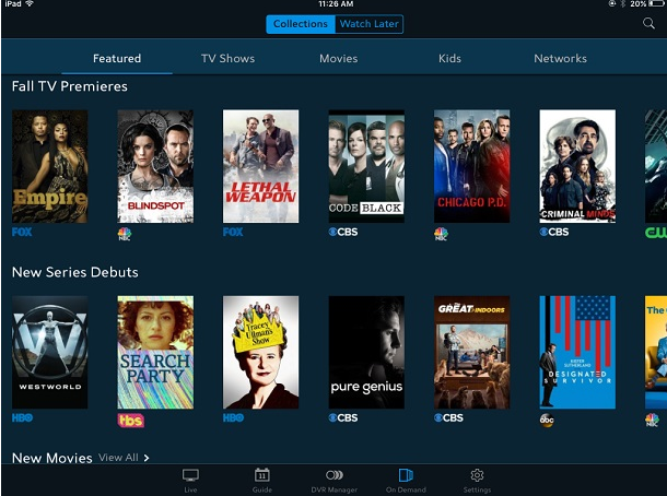 Spectrum TV App for Windows