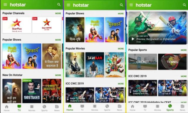Hotstar for Windows 10